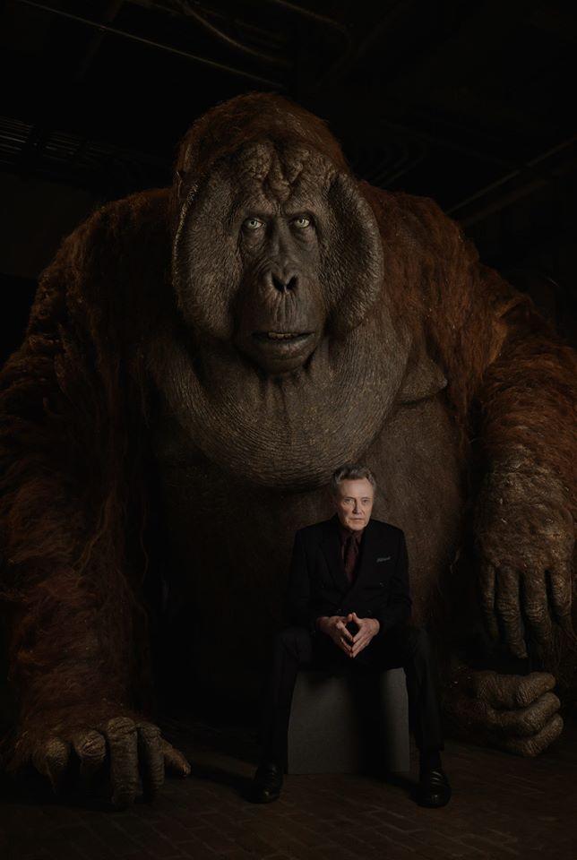 Christopher Walken a Ludvík (Král opic)