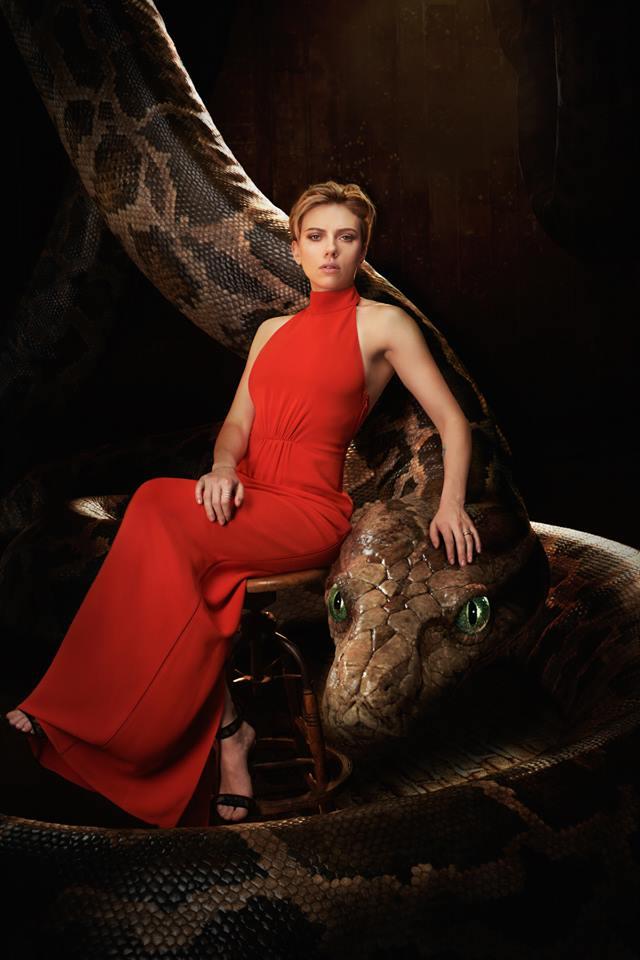 Scarlett Johansson a Kaa